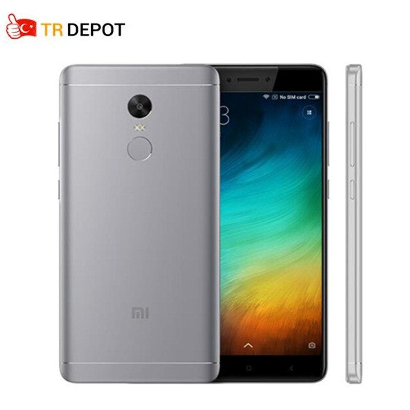 D'origine Xiaomi Redmi Note 4X3 GB 32 GB Snapdragon 625 Octa Core 13.0MP Caméra Métal Corps Mondial ROM OTA Mobile Téléphone 1080 P