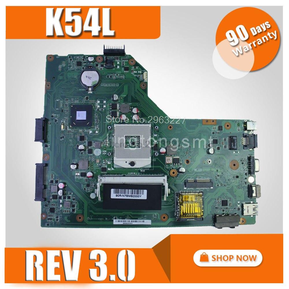 K54L Motherboard REV 3.0 For ASUS X54H K54L Laptop Motherboard K54L Mainboard K54L Motherboard Test 100% OK