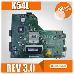 K54L REV 3.0 dla For Asus X54H K54L K54LY K54L laptopa płyty głównej K54L płyty głównej test 100% OK