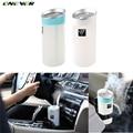 300ML Negative Ion Ultrasonic Humidifier Car Humidifier Air Purifier Aroma Diffuser Essential USB Charging Port Car Air Purifier