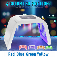 LED Photon Light Facial Body Skin Beauty Care 4 Colors PDT Photodynamic Therapy Free Shipping