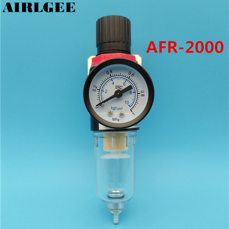 AFR-2000 Pneumatic Adjustable Pressure Regulator Air Source Treatment 0 - 1Mpa цена 2017