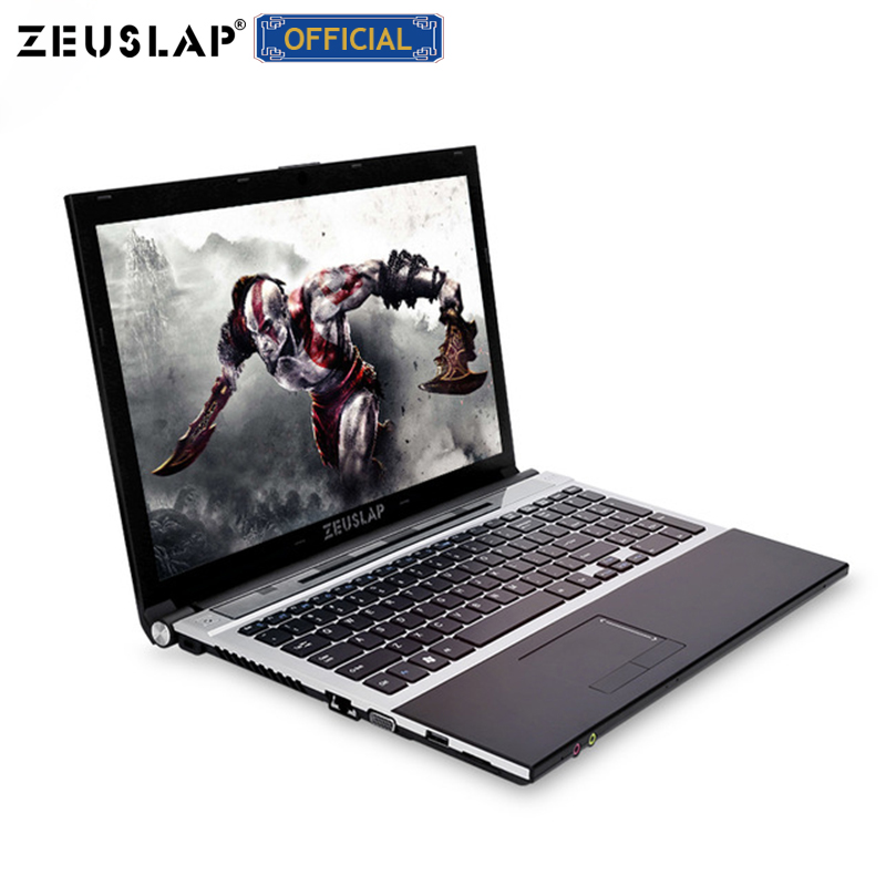 15.6inch Intel I7 Cpu 8gb Ram 1tb Hdd Windows 10 System 1920x1080p Full Hd Wifi Bluetooth Dvd Rom Notebook PC Laptop Computer