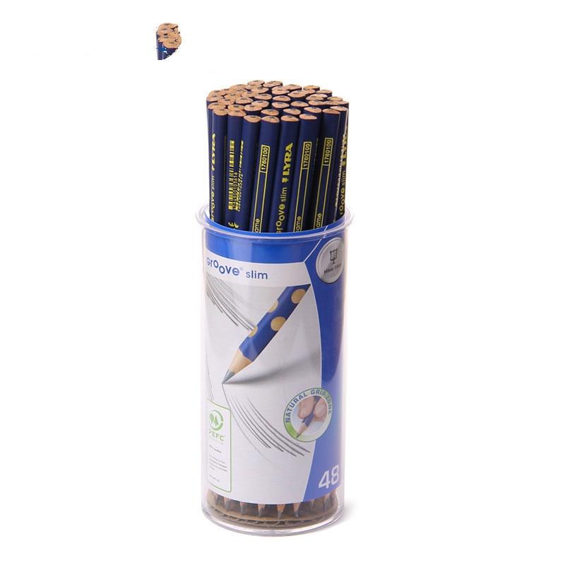 Lyra Groove Slim 48 Child Triangle Pencils 48pcs/lot|Standard Pencils| |  - title=