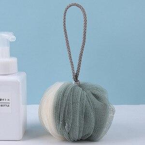 Image 5 - FOURETAW baignoire pour site de bain, boule de bain douce, serviette de bain fraîche, éponge de nettoyage à mailles de lavage, 1 mode