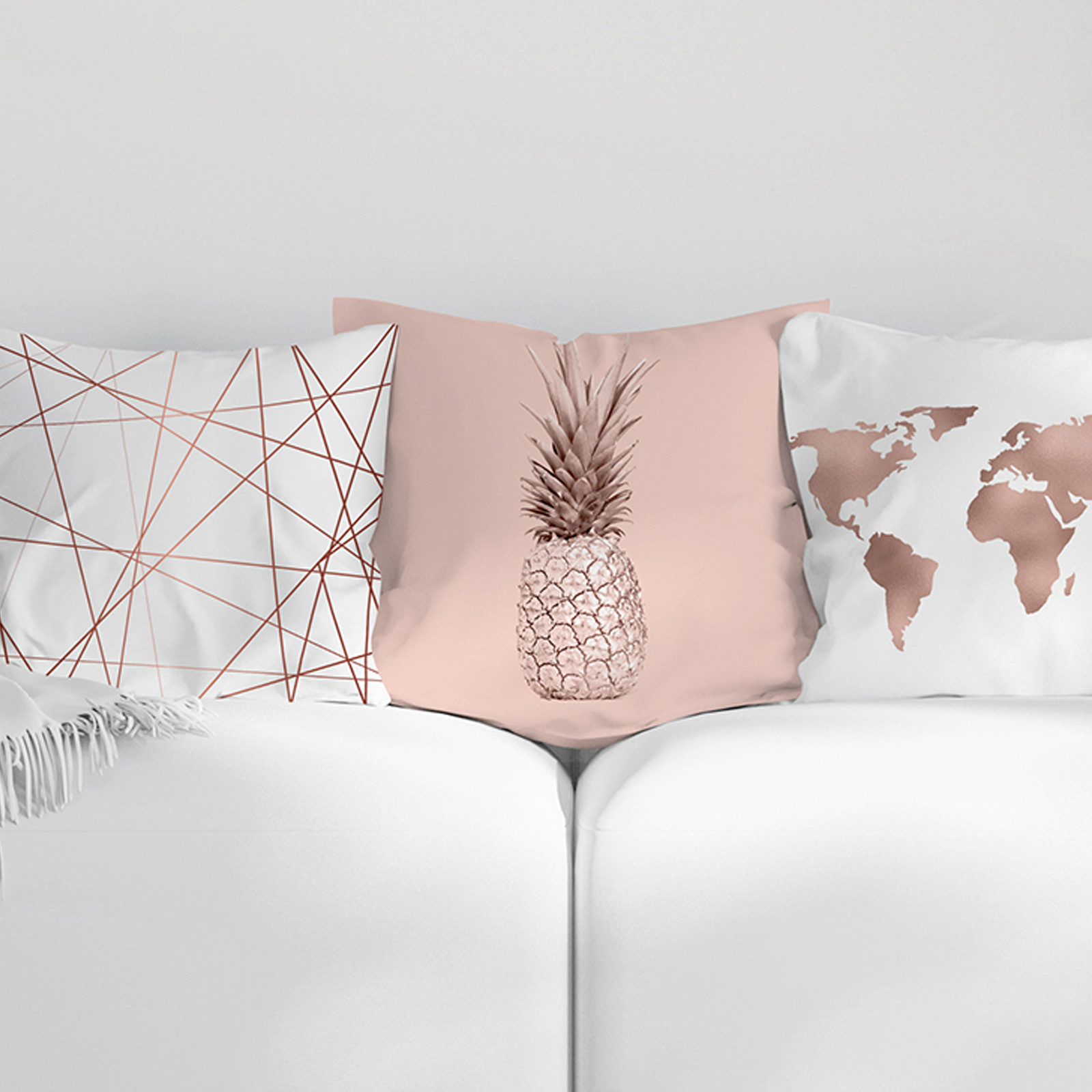 Miraculous Us 2 39 31 Off Modern Rose Gold Flower Cashmere Cushion Cover Pillowcase Sofa Throw Pillows For Christmas New Year Party Home Decoration In Cushion Caraccident5 Cool Chair Designs And Ideas Caraccident5Info