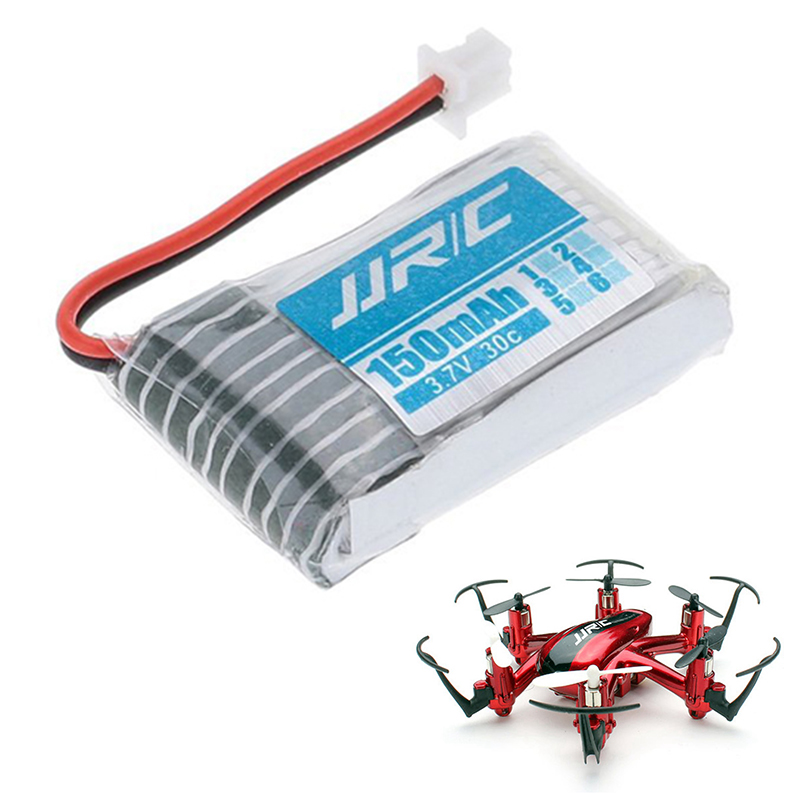 For JJRC H20 Original 150mah High capacity 30C Li-po Battery 3.7V for RC Quadcopter Helicopter Airplane Drone Accessory mini drone rc helicopter quadrocopter headless model drons remote control toys for kids dron copter vs jjrc h36 rc drone hobbies