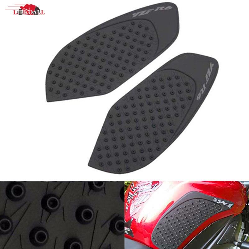 Utilisation universelle 3D Set pour r/éservoir de moto avec protection et bouchon V/éhicules Kawasaki Aspect carbone