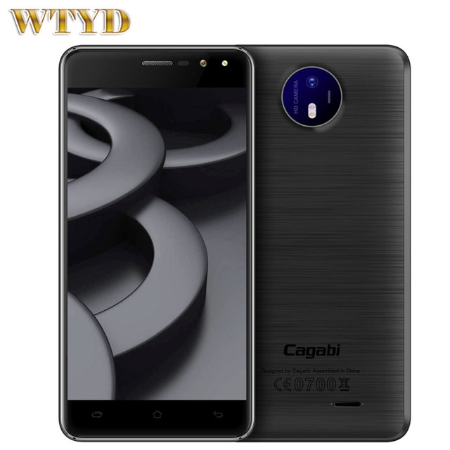 Original 3G Vkworld Cagabi ONE 1GB+8GB 5.0 inch 2.5D Android 6.0 MTK6580A Quad Core up to 1.3GHz OTA GPS FM BT WiFi Cell Phones