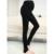 Mulheres Roupas de inverno Leggings Maternidade Para As Mulheres Grávidas Espessamento Veludo Calças Quentes Calças de Cintura Alta Calças de Gravidez 8072