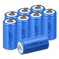Anmas Power 1,2 V Ni-CD Sub C SC 2200 mAh аккумулятор синего цвета nicd аккумулятор SC с вкладкой