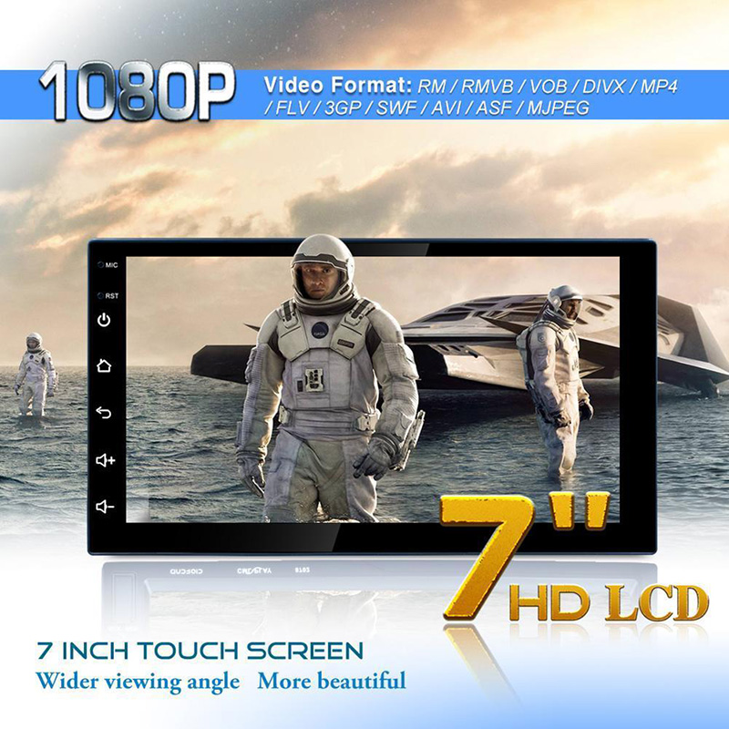 EDAL 7 pouces HD Bluetooth lecteur MP3 Mp5 lecteur multimédia 16G mémoire universelle GPS Navigation WIFI lecteur Navigation Machine