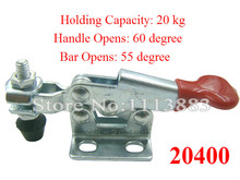 5PCS Holding Capacity 20KG 44LBS Horizontal Handle Toggle Clamp 20400