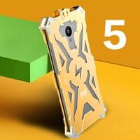 Luxury Phone Case For Meizu Meilan 5 Simon THOR IRONMAN Shockproof Metal Aluminium Anti Knock Protective