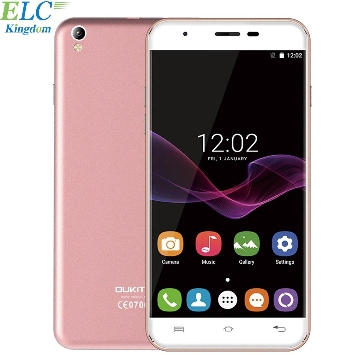 Original Oukitel U7 MAX Mobile phone 5.5 Inch HD Screen MTK6580A Quad Core 1G+8G 8MP Camera 2500mAh 3G WCDMA Smartphone