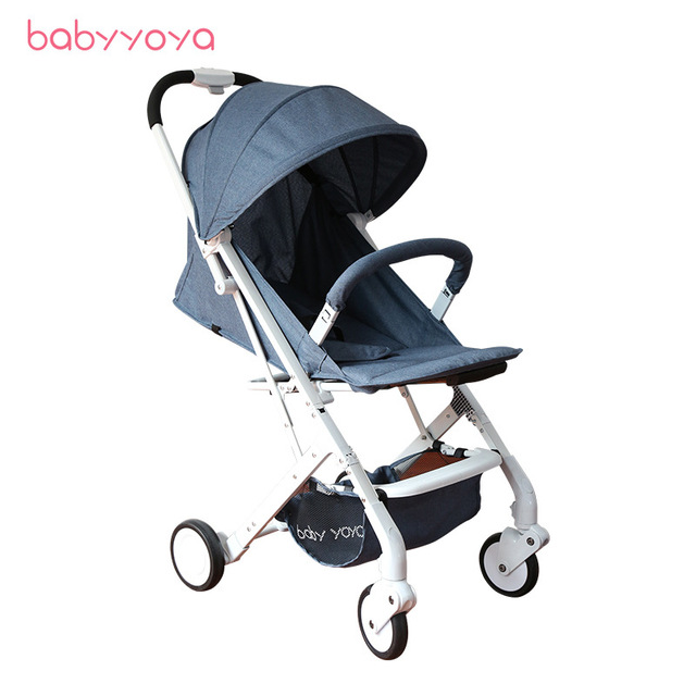 c4854f202 BABYYOYA 4 Yoya cochecito de bebé plegable ligero Cochecitos de bebé alto  paisaje portátil bebé 2