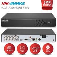 ANNKE 8CH 3MP 5in1 HD TVI CVI AHD Security DVR Recorder H 264 Digital Video Recorder