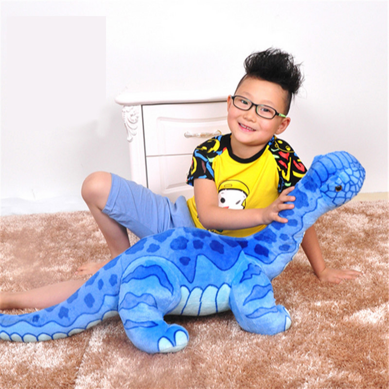 Fancytrader Big Cute Brachiosaurus Stuffed Doll Giant Soft Dinosaur Plush Toy 95cm X 45cm Kids Play Gift 28inch giant bunny plush toy stuffed animal big rabbit doll gift for girls kids soft toy cute doll 70cm