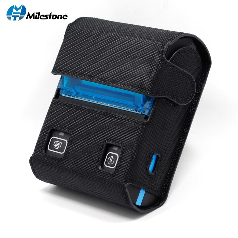 Milestone POS Thermal Printer Bluetooth Receipt bill ticket Android IOS Computer mini portable wireless light small MHT-P5801