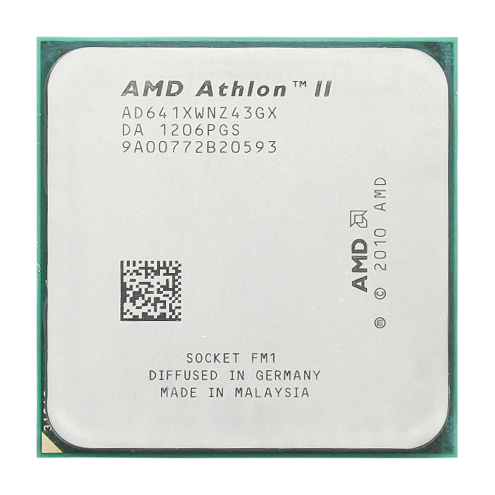 AMD Athlon II X4 641 2.8GHz/Quad-core/CPU Processor/AD641XWNZ43GX/Socket FM1