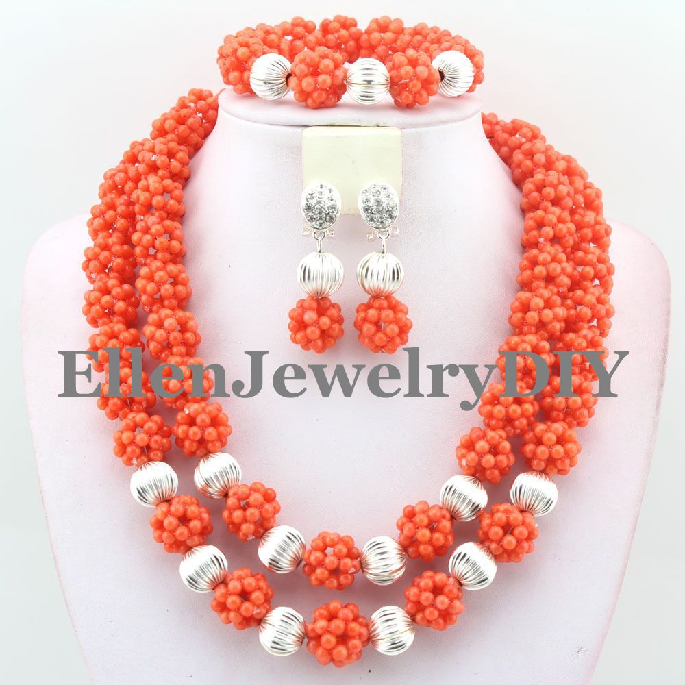2019 Perfect Design Nigerian Wedding party African Crystal Balls Jewelry Sets African Beads Jewelry Sets W93952019 Perfect Design Nigerian Wedding party African Crystal Balls Jewelry Sets African Beads Jewelry Sets W9395
