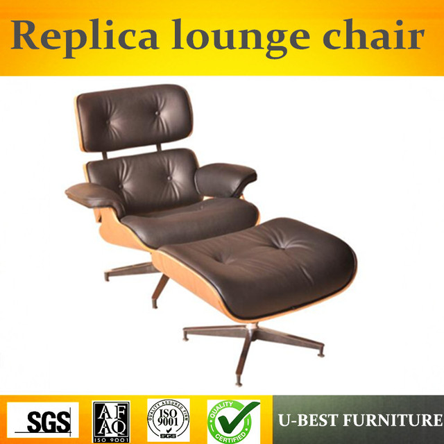 Superior Leather Lounge Chairs Recliners #4 - U-BEST The Emperor Lunch Lounge Chair Recliner Chair ,boss Replica Genuine  Black Leather