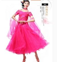 S-XXL Ballroom Dance Dress  10 colors WomenLady Clothing cha-cha Competition dress Bue red black Modern Dance Tango waltz  Skirt