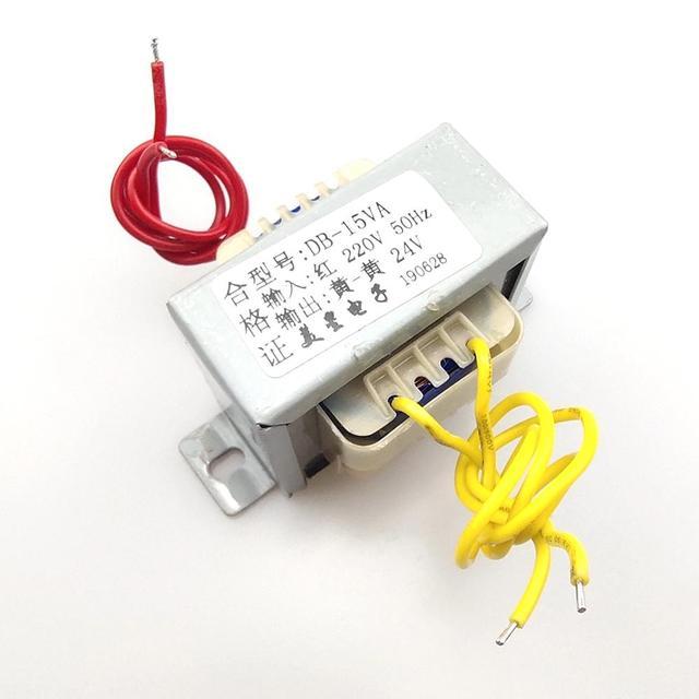 Transformateur 220v 24v EI5725 15W 15VA 220 EI5725 15W 15VA 220V a 24V AC 24V trasformatore 0.625A AC24V di alimentazione del trasformatore