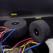 Kaolanhon Angepasst Hohe Qualität 200W 300W 500W 600W Home Audio Verstärker Transformator Ring Gaze Ring Rinder audio Gewidmet
