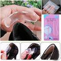 1 Par Silicone Gel Heel Cushion Cuidados Com Os Pés de Volta das Mulheres Shoes Pads Palmilhas