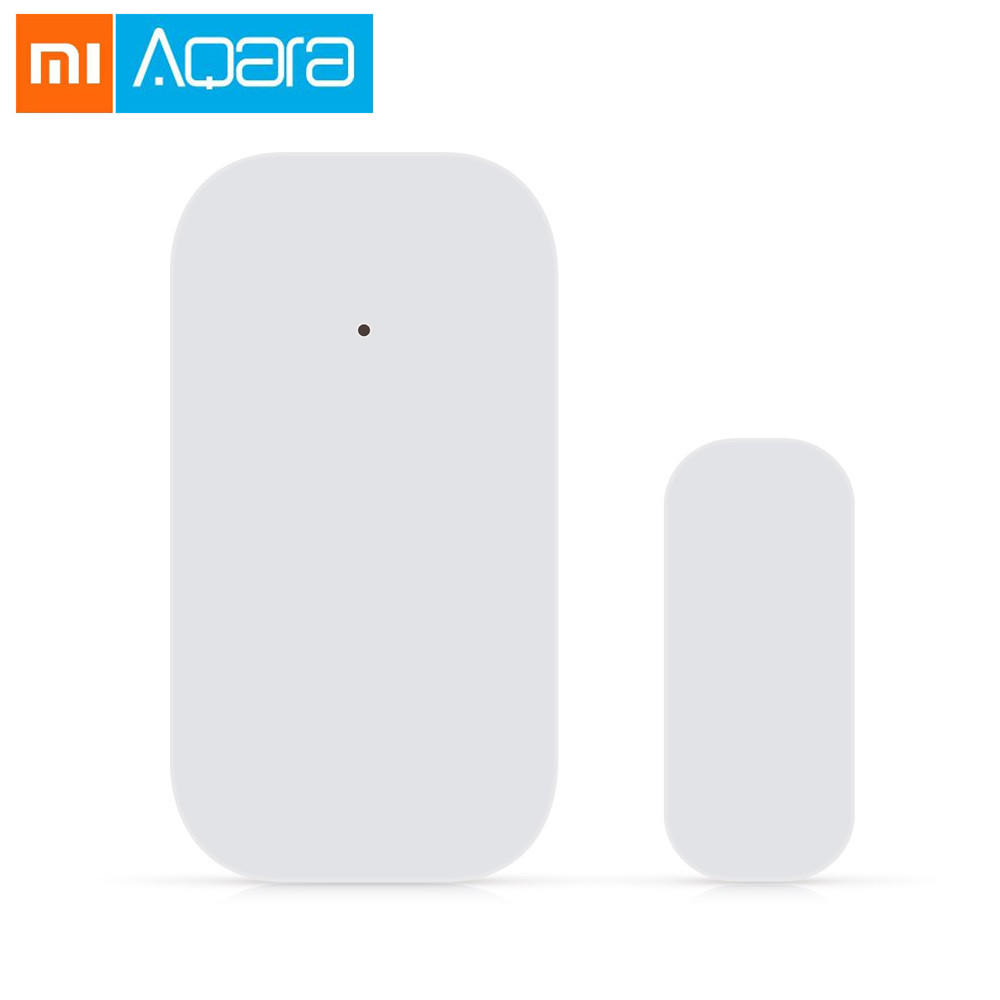 Aqara Outlets Original Xiaomi Aqara Smart Window Door Sensor Intelligent Home Security Device Zigbee Wireless Connection Mijia