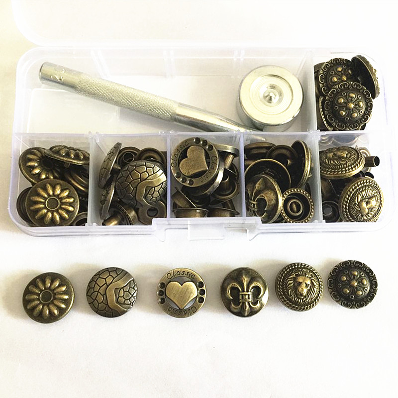 Buy Cheap 160pcs 12mm Metal Snap Buttons 4 Color Combination Kit With 4 Tools Snap Press Button Fasteners For Garments Clothing Jeans Coat Arts,crafts & Sewing Home & Garden