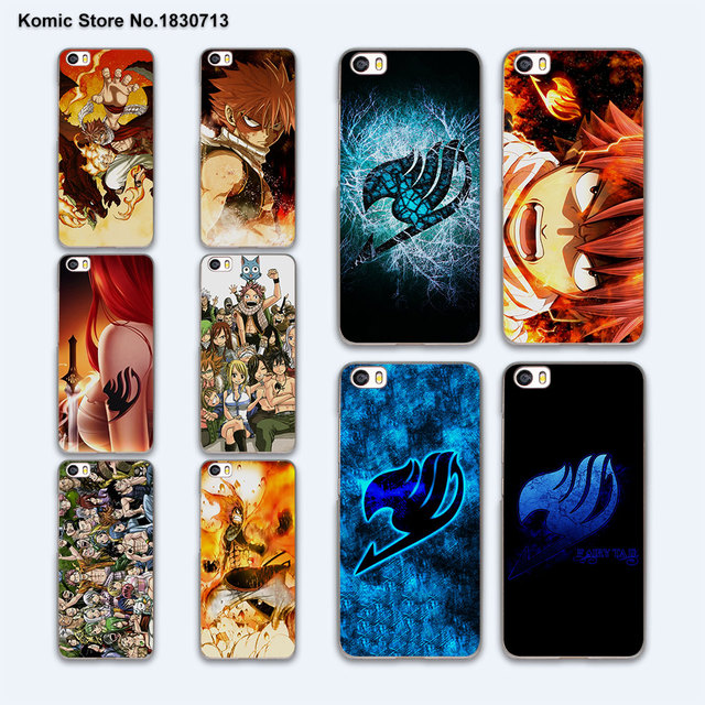 Fairy Tail Case Cover for Xiaomi mi