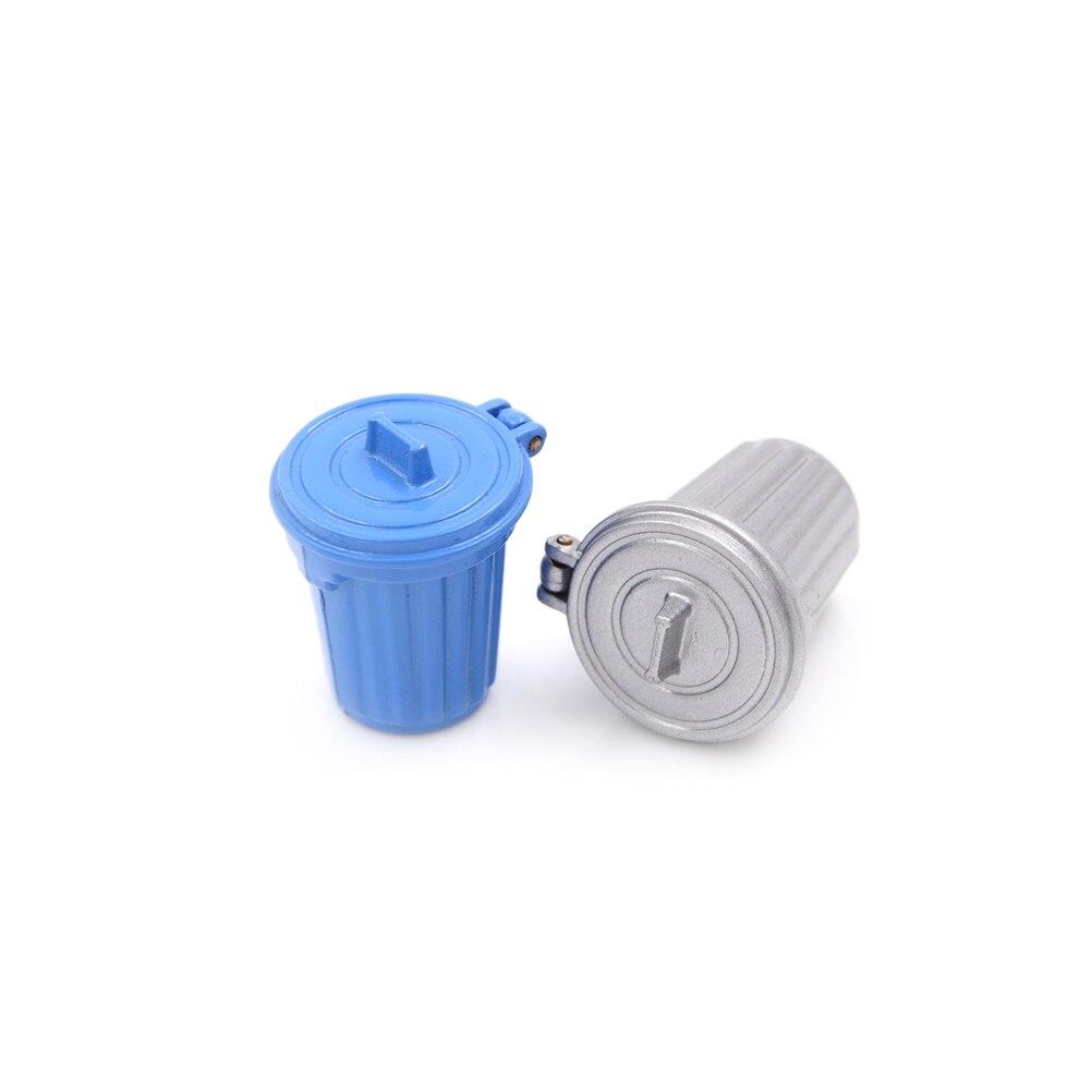 1:12 Dollhouse Miniature Accessories Dustbin Trash Can Simulation Furniture HI