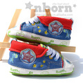 Free Shipping Baby Boy Fabtic Newborn Shoes Infants Crib Sneakers First Walkers Enfant Footwear Soft  Prewalkers Baby Shoes