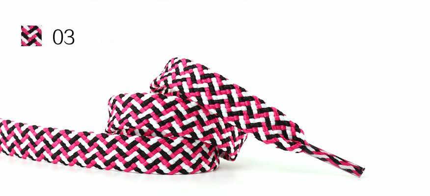 2018 Elegant design multicolor shoelaces โปรโมชั่นของคุณเสื้อผ้าสำหรับรองเท้า