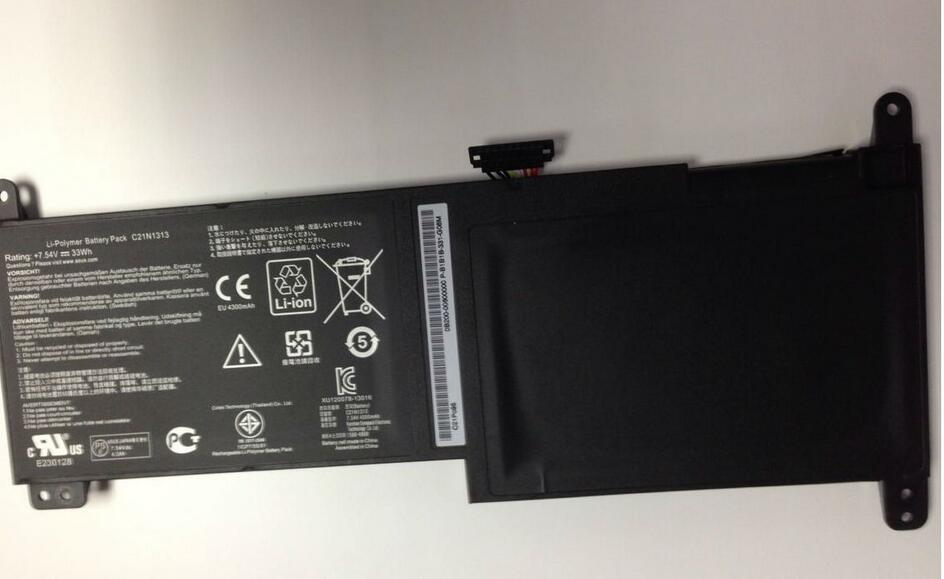 New Battery for ASUS TX201 SERIES C21N1313 7.54V 33WH