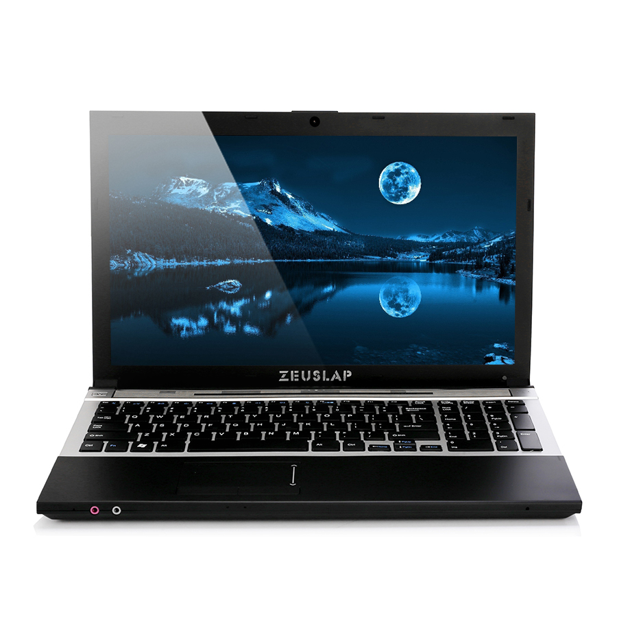 15.6 pouces intel i7 CPU 8 gb Ram + 500 gb HDD 1920x1080 écran DVD Rom WIFI bluetooth windows Système 10 Notebook Ordinateur portable