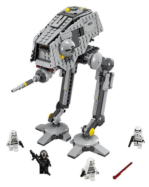 10376 BELA Star Wars 7 AT-DP Model Building Blocks Classic Enlighten DIY Figure Toys For Children Compatible Legoe