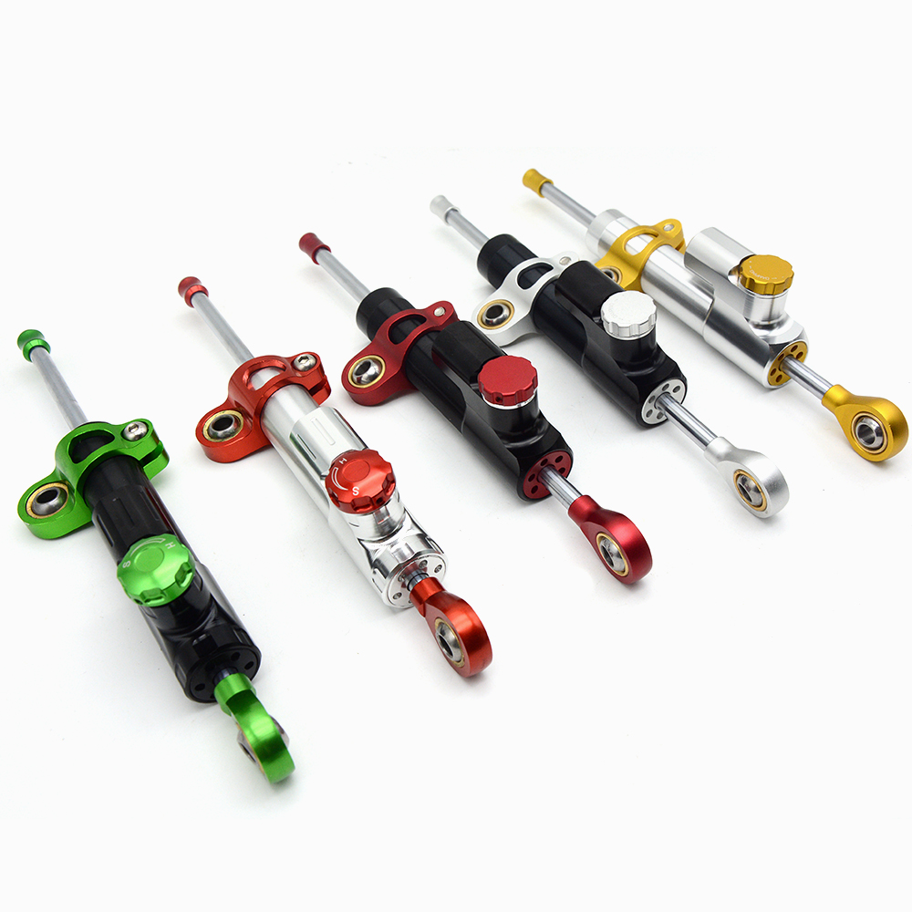 for MT07 MT09 FZ MT 09 YZF R1 R6 CNC Damper Steering StabilizerLinear Reversed Safety Control Over for r6 mt07 fz6 r3 ninja 300