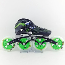 Powerslide Vision inline skating shoes speed skate skating shoes Matter G13 Matter F2 skating wheels 90mm 100mm 110mm