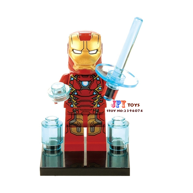 Single Sale star wars superhero marvel clvil war Iron man building blocks model bricks toys for children brinquedos menino single sale star wars superhero decool green lantern building blocks model bricks toys for children brinquedos menino
