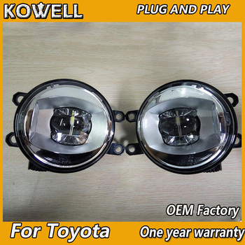 Car Styling Fog Lamp for Valeo for LEXUS CT200H  LEXUS ES LEXUS GS  LEXUS GX IS LX RX  for valeo original LED fog light assembly