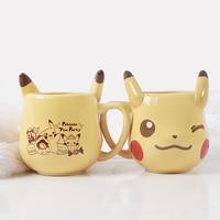 2018 Newest Kawaii Cartoon Pocket Monsters Pikachu Mugs ceramic cup coffee mugs milk mugs tea cups water bottle Birthday gifts