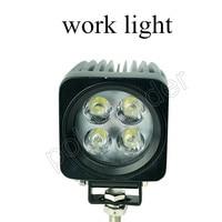 best selling 4WD 4X4 SUV ATV off Road Truck Bike 12/24V LED Fog light 2pcs 12W LED work light Spot Beam off road
