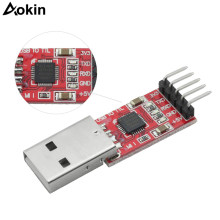 CP2102 Module USB to TTL USB 2.0 Serial Module UART STC Downloader with 5 Pin Dupont Cable(China)