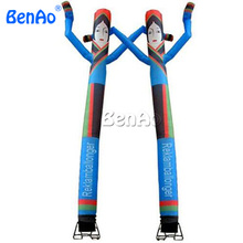 AD071 Free shipping Twins inflatable air dancer with smiling human /Happy couple morden wedding inflatable air dancer for 1 set