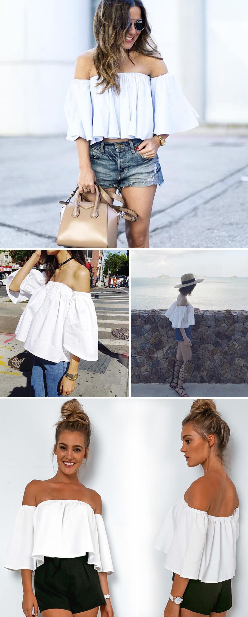HTB1dW5GLVXXXXa.aXXXq6xXFXXXF - Sexy off shoulder white blouse women Ruffle PTC 95