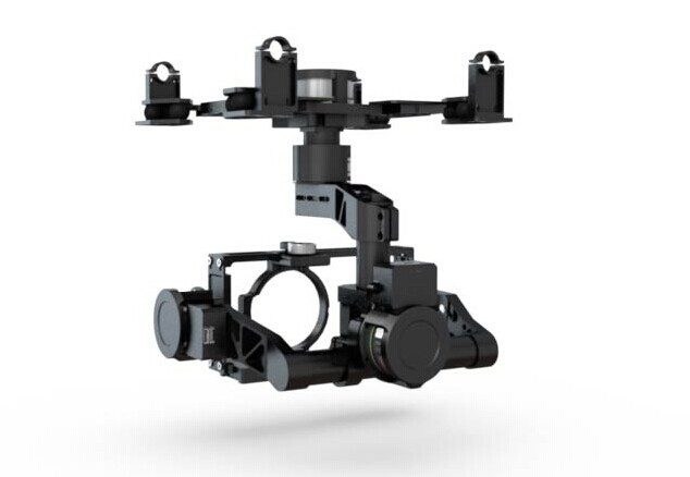 DJI Zenmuse Z15-GH4 (HD) Gimbal Z15 GH4 for Panasonic GH4 GH3 Camera dji phantom 2 build in naza gps with zenmuse h3 3d 3 axis gimbal for gopro hero 3 camera