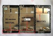 LCD Panel de Visualización de la Pantalla Pantalla Táctil Digitalizador con marco Para ASUS Google Nexus 7 ME572 ME571 ME571KL 3G versión ME572CL